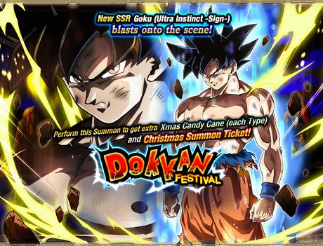 Dokkan Festival Goku Ultra Instinct Sign Dragon Ball Z Dokkan Battle Wiki Fandom