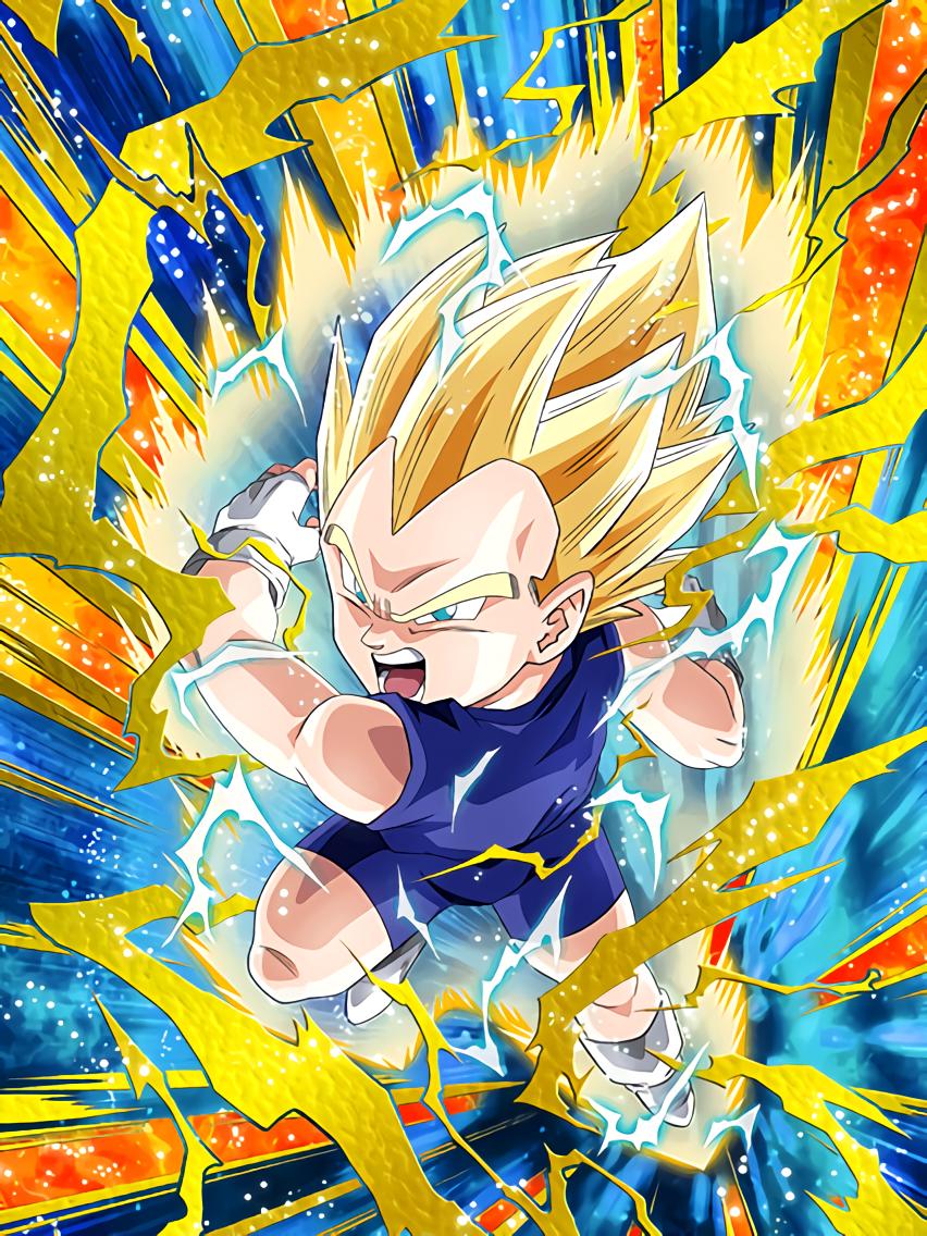 Young Saiyan Descendant Super Saiyan Vegeta Jr Dragon Ball Z Dokkan Battle Wiki Fandom