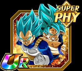 Limit-Breaking Duo Super Saiyan God SS Goku & Super Saiyan God SS Vegeta