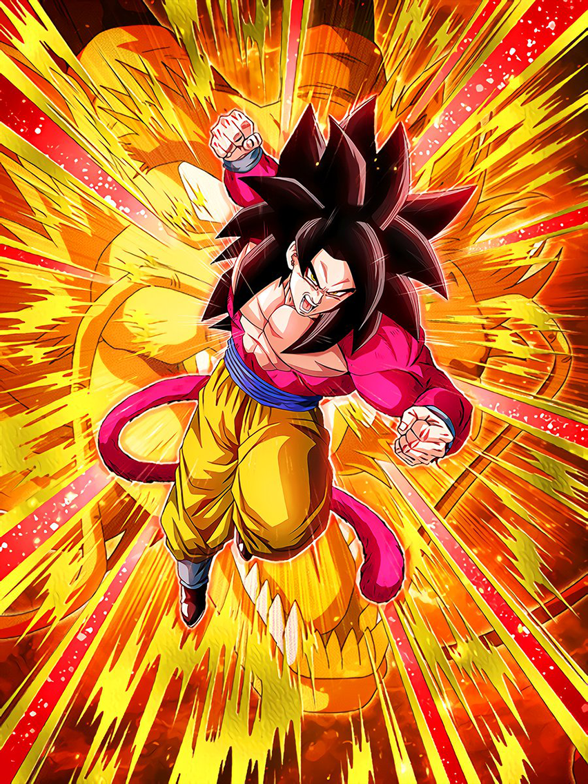 Hope-Filled Strike Super Full Power Saiyan 4 Goku