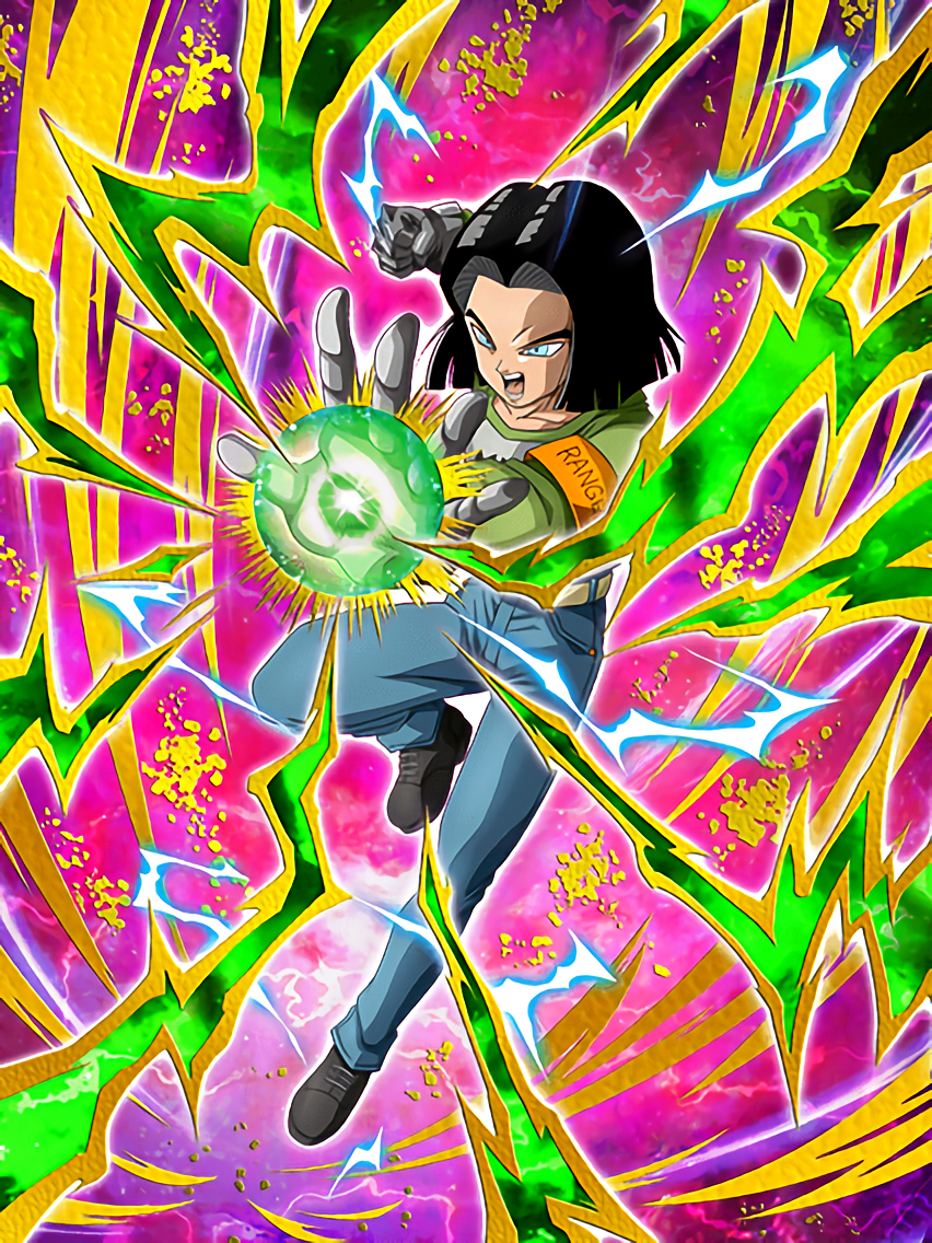 Quietly Burning Spirit Android 17