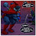 Bizarro Batman All-Star Superman 001