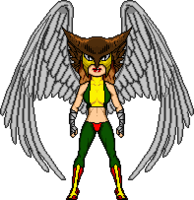 Justice by cirom ohre-hawkgirl