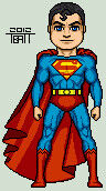 Micro classic superman by everydaybattman-d4prk3x