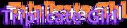 Triplicate Girl logo.png