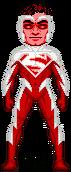 Micro red superman by everydaybattman-d4uitcj