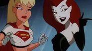 Harley Quinn Washes Livewire. Supergirl Saves Batgirl.