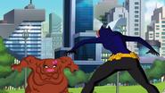 Batgirl V.s Mrs. Clayface Duel 2