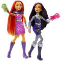 Doll stockography- Intergalactic Sisters Blackfire and Starfire