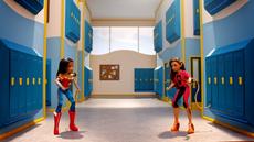 Wonder Woman and Cheetah DCSHG Doll Western Duel