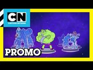 "Cartoon Network - CN Arcade ""Space House"" promo (Teen Titans GO! + DC Super Hero Girls figures)"