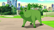 Beast Boy as Pig