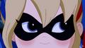 Harley Quinn DCSHG angry eyes