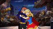 Batgirl and Supergirl G1