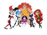 Super Villain Girls