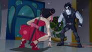 Katana vs. Lobo