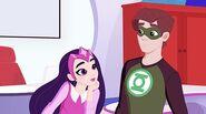 Star Sapphire Admiring Hal Jordan (Green Lantern)