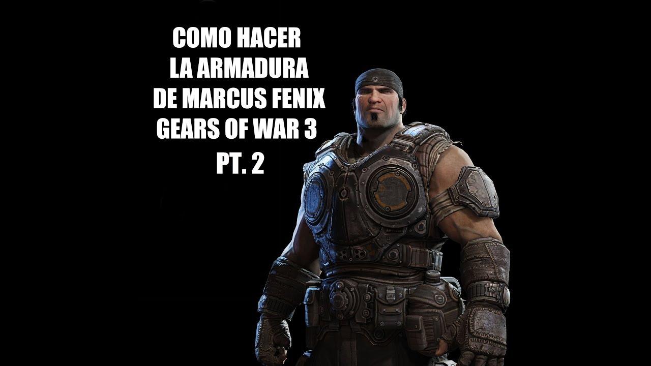 COMO HACER LA ARMADURA DE MARCUS GOW 3 EN GOMA EVA! PT.2