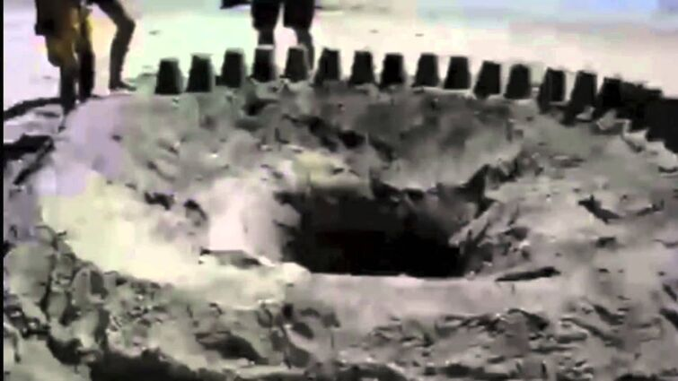 You will not believe how DEEP this hole is!!!