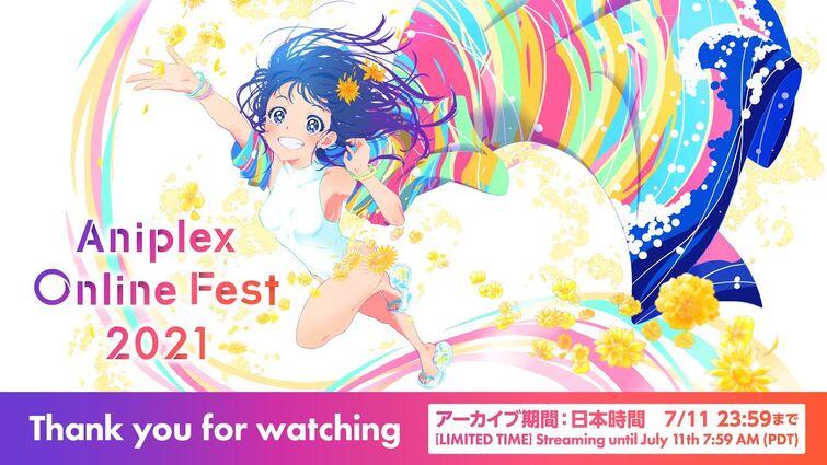 【アーカイブ配信】[ENG SUB]「アニプレックス オンライン フェス 2021」/ Aniplex Online Fest 2021