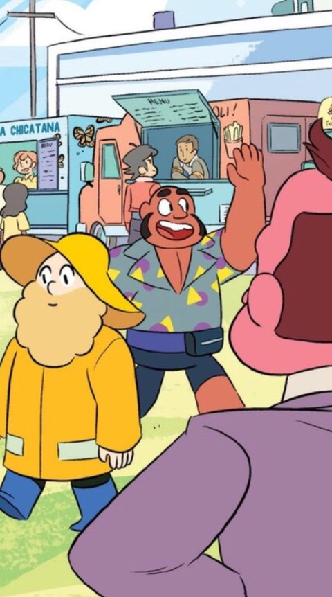 Hehe.. I see you Steven Universe