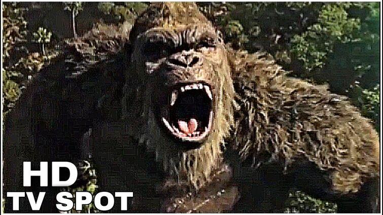 Godzilla vs kong new TV Spot HD
