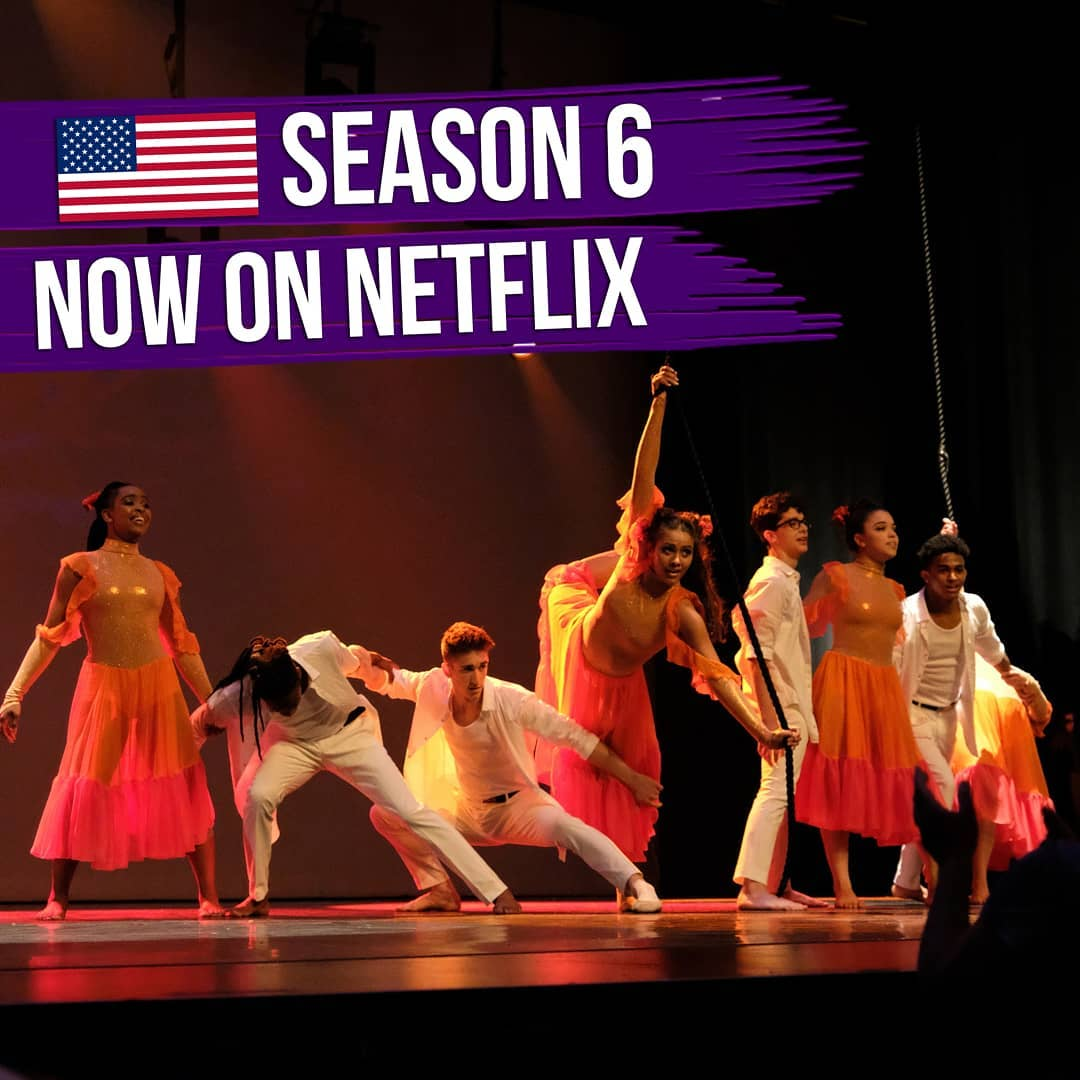 """THE NEXT STEP on Instagram: """"🇺🇲 BIG NEWS, USA! 🇺🇲 After a long wait, season 6 is now available - on Netflix. Enjoy some favorite and never-before-seen pics from our…"""""""