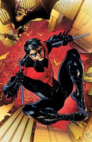Nightwing Dick Grayson Wiki Dcandmarvelheroes Fandom
