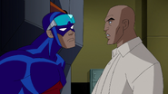 Atom helps Luthor