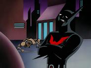 Batman Unhappy with Stalker