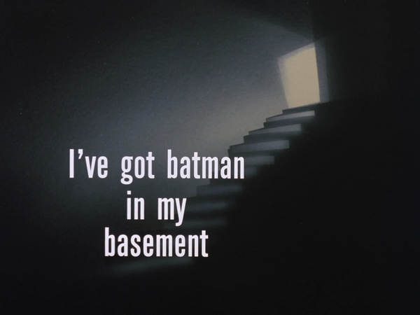 I've Got Batman in My Basement