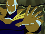 Doctor Fate confronts Karkull