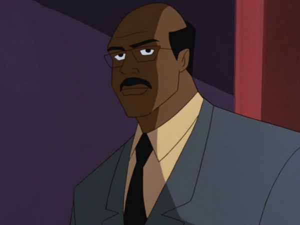 Lucius Fox Dc Animated Universe Fandom