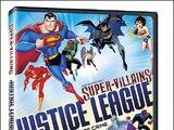 DC Comics Super-Villains: Justice League Masterminds of Crime (DVD)