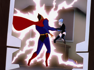 Superman's vulnerability to electricity