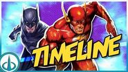"""DC ANIMATED MOVIE UNIVERSE Viewing Order By On-Screen Dates! (""""Flashpoint Paradox"""" to """"Hush"""")"""