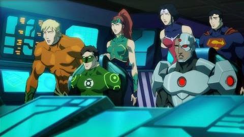 Justice League Throne of Atlantis - Official Trailer
