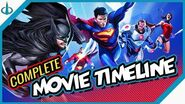 """The COMPLETE DC Animated Movies Viewing Order (""""Flashpoint Paradox"""" to """"Apokolips War"""")"""
