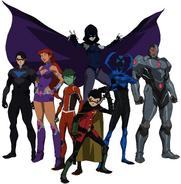 Teen Titans promo