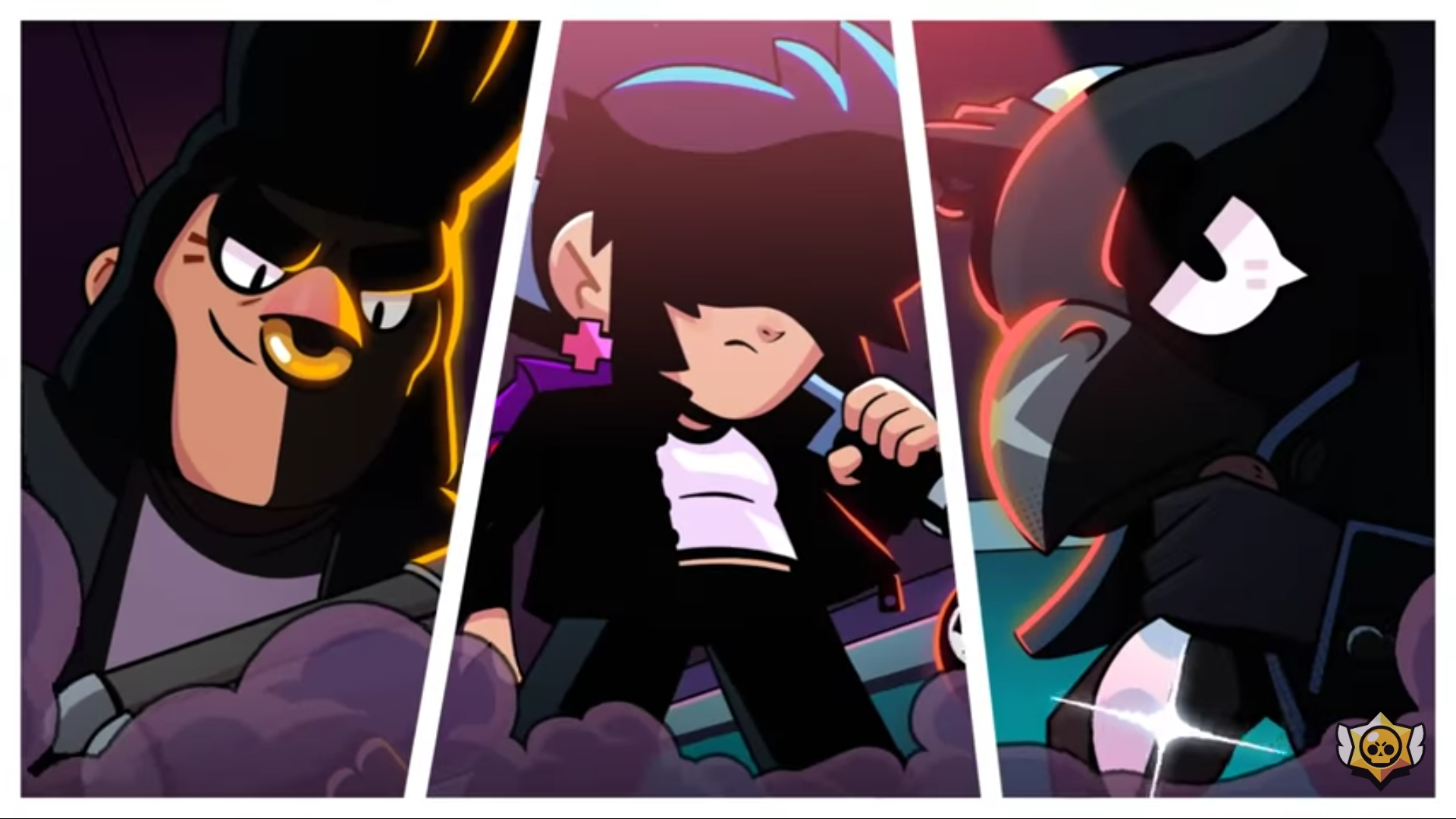 Who's the middle brawler? Is it aknew brawler?Is it simon?  Comment who you think hebpr she might be