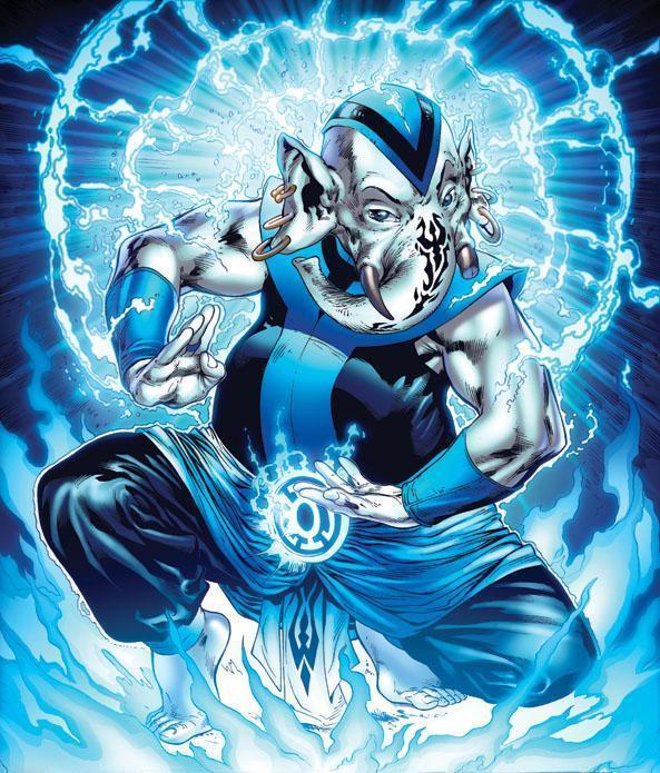 Membro da Tropa dos Lanternas Azuis