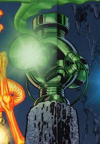 Bateria de Poder do Lanterna Verde