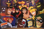 Justice League (Justice League Action) 001