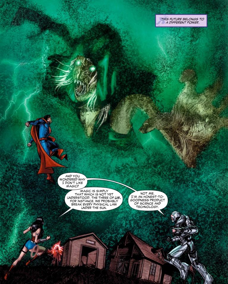 Liga da Justiça Sombria: No Escuro