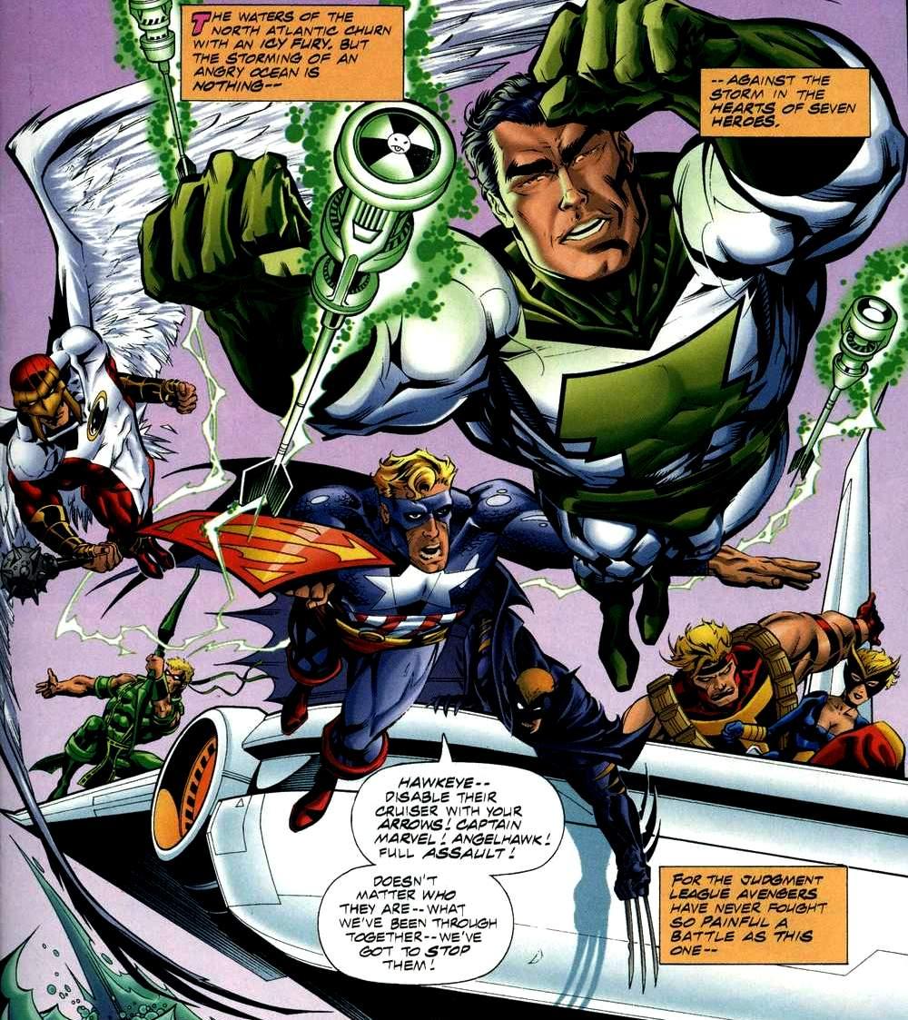 Liga da Justiça dos Vingadores (Universo Amálgama)