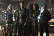 Justice Society of America Arrow 0001