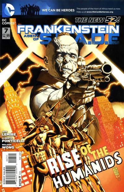 Frankenstein, Agente da S.O.M.B.R.A. Vol 1 7