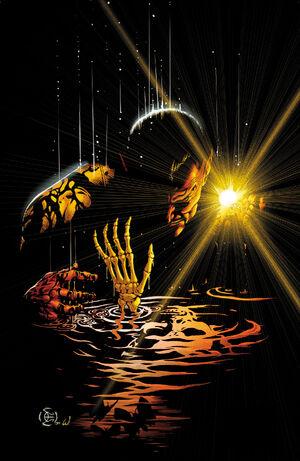 Sinestro é um mestre da intimidação e geração de medo. Controle através do medo.