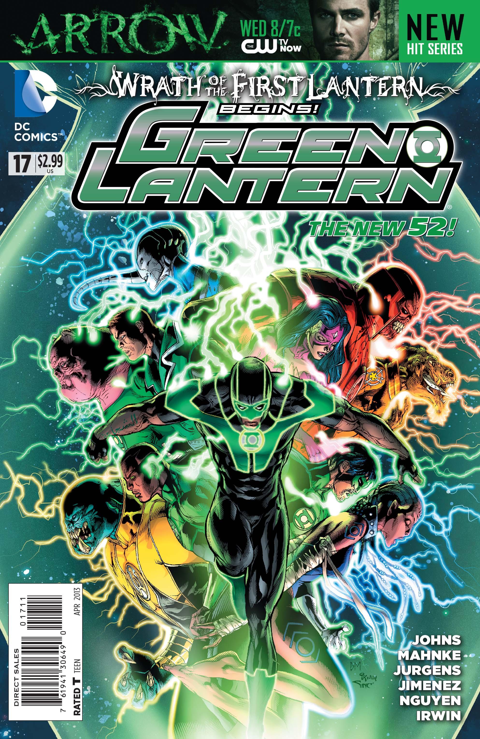 Lanterna Verde: A Ira do Primeiro Lanterna