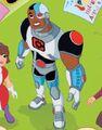 Cyborg DC Super Hero Girls 0001